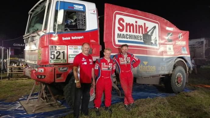 Cuatro camiones del Dakar equipados con transmisiones Allison