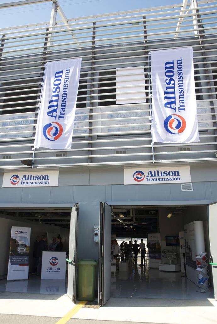 Allison Transmission hace una demostración en el Circuito de Monza