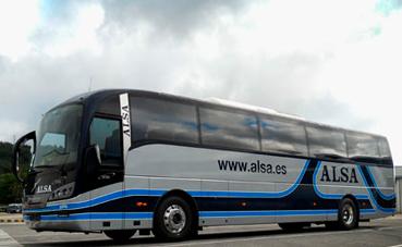 Alsa ofrece 1.500 plazas adicionales para viajar entre Madrid y Asturias