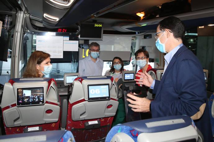 Alsa muestra a Mitma su Plan Movilidad Segura, para volver a viajar en autobús
