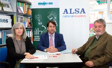 Alsa y Fundación Mujeres, contra la violencia de género