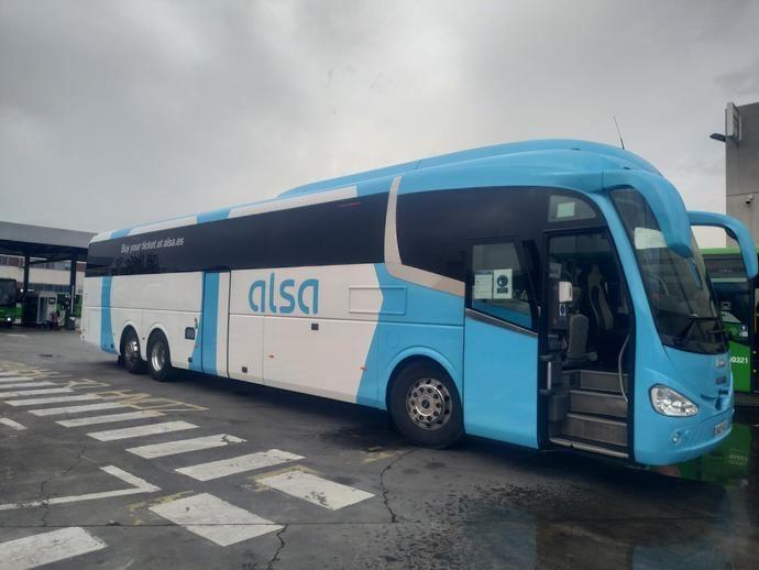 Alsa, única compañía de movilidad de Europa, que participa en 5G-Mobix