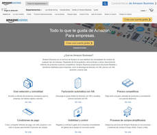 Portal de Amazon Business.