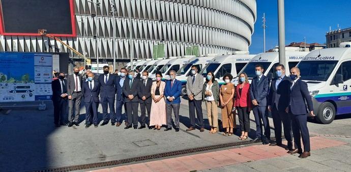 Mercedes-Benz Vans entrega la mayor flota de ambulancias