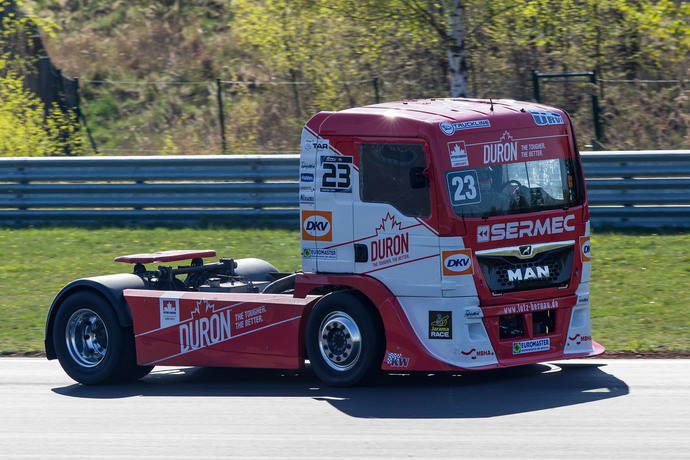 Antonio Albacete y Euromaster buscan triunfo Campeonato de Camiones