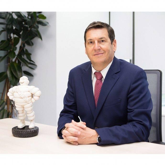 Antonio Crespo, director comercial de Michelin