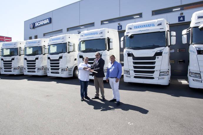 La empresa Antonio Marfil incorpora 20 camiones Scania S500 a su flota