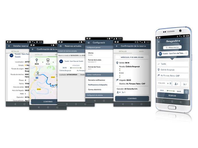 Sagalés estrena plataforma para gestionar transporte a demanda