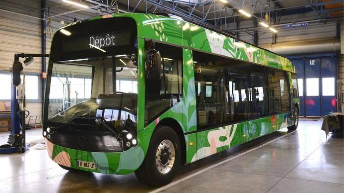 Alstom entrega su primer autobús eléctrico producido en serie a Estrasburgo