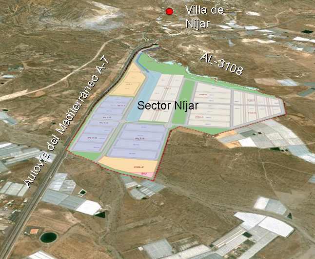 Andalucía aprueba el proyecto del Área Logística Almería, sector de Níjar