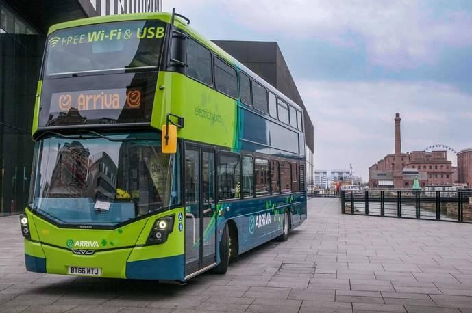 Arriva realiza importantes inversiones en híbridos Volvo en el Reino Unido