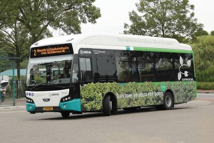 Arriva Netherlands adquiere dos autobuses Citeas eléctricos de VDL