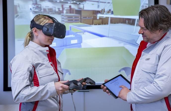 Audi forma a sus empleados con realidad virtual
