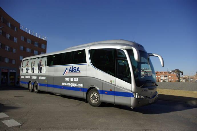 AISA presenta el nuevo servicio Aula Bus