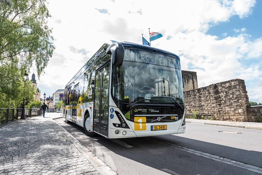 Volvo recibe su mayor pedido de autobuses eléctricos