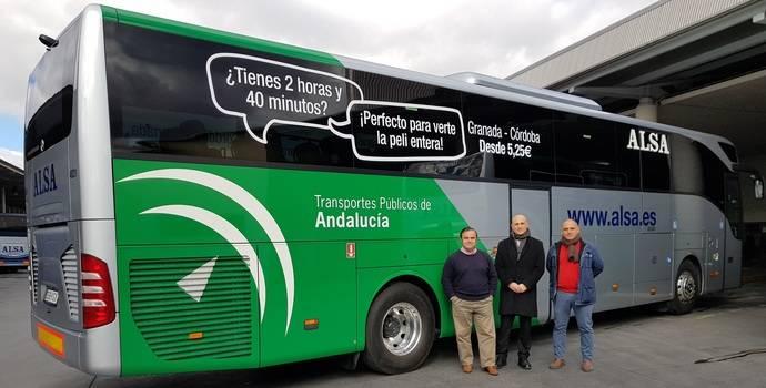 Línea une Granada con Sevilla, Málaga, Córdoba y Almería renueva su flota