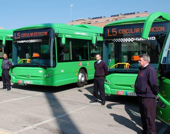 Los autobuses de Colmenar Viejo se convierten en híbridos