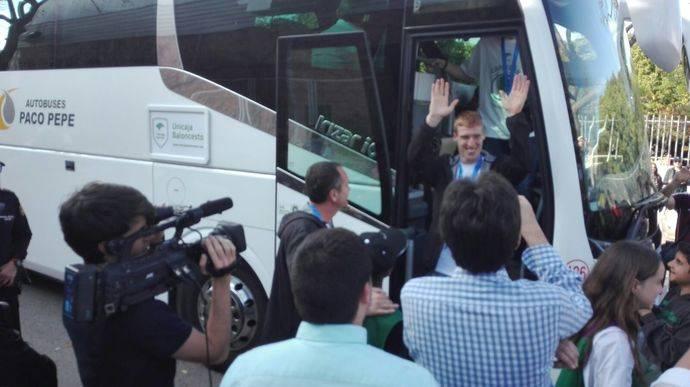 Autobuses Paco Pepe, transporte oficial Copa del Rey de baloncesto 2020