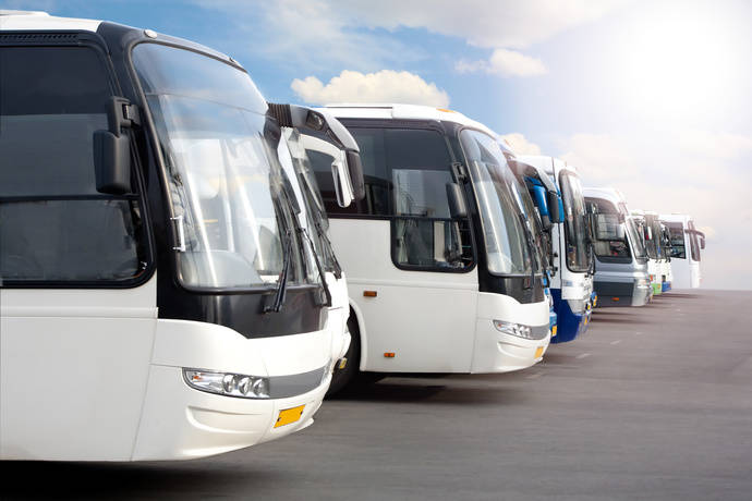 Autobuses en línea.