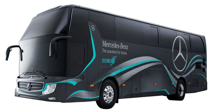 Primer chasis Mercedes-Benz español para el mercado taiwanés