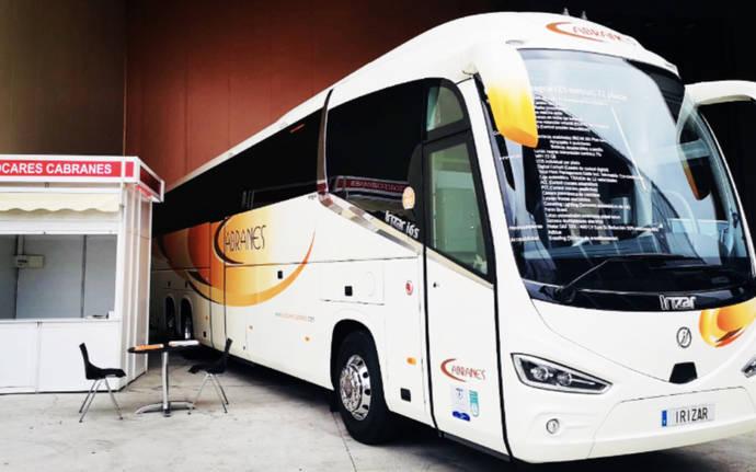 Autocares Cabranes presenta en Fidma novedoso sistema de ecoconducción sostenible