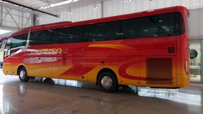 Autocares Ansa incorpora un chasis Scania K410EB con carrocería Irizar