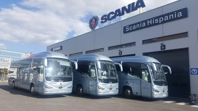 Autocares Bravo incorpora tres autobuses de Scania a su flota
