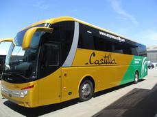 Grupo Castrosua entrega un vehículo de tipo Stellae a la empresa Autocares Jaén