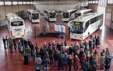 La Agostense presenta los nuevos buses Volvo B11R carrocería Irizar i-8