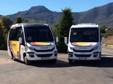 Autocares Carrio acaba de incorporar dos unidades Iveco en su modelo 70C17 Euro 6.