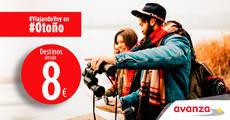 Avanza lanza su promoción #ViajandoVoy