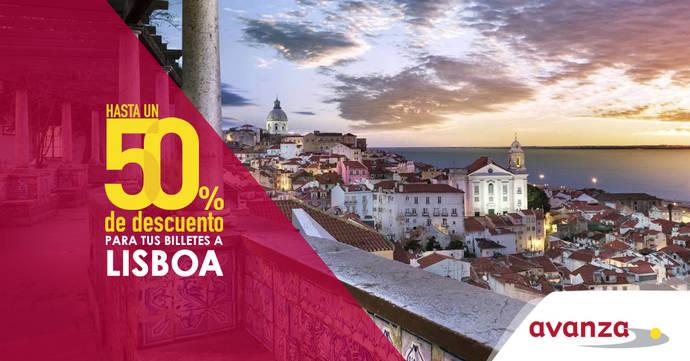 Avanza lanza promoción de hasta el 50%, para Lisboa