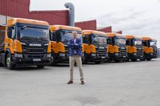 El Grupo Mat compra seis Scania P450 XT