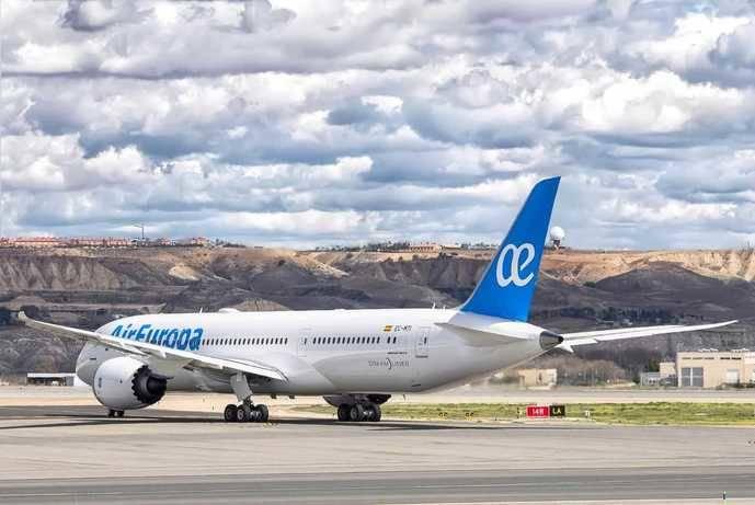 Air Europa realizará transporte de mercancías en sus aviones