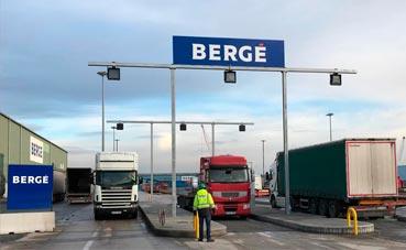 Bergé automatiza su terminal en el Puerto de Bilbao