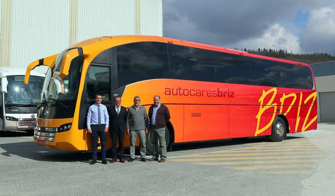 Un nuevo Sunsundegui SC7 para la flota de Autocares Briz