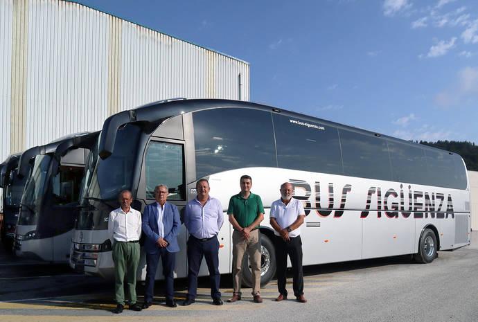 Dos nuevos Sunsundegui SC7 para la empresa alicantina Bus Sigüenza