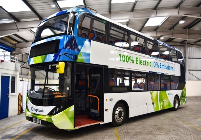 Stagecoach encarga 46 e-buses BYD para Escocia