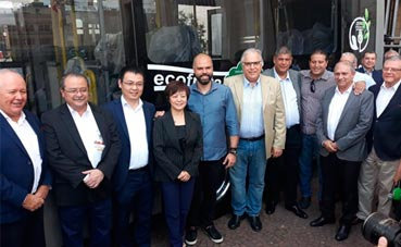 BYD entregará 15 autobuses 100% eléctricos a Brasil