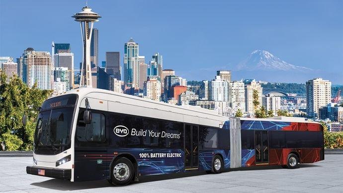 El estado de Washington selecciona a BYD para un contrato estatal