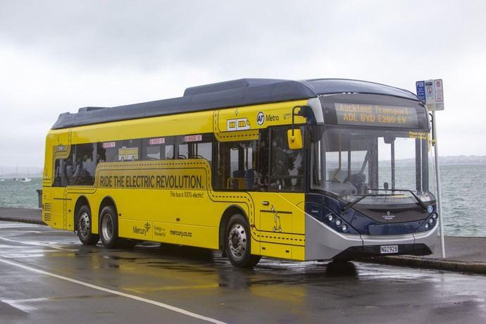 ADL entrega su primer BYD ADL Enviro200EV XLB