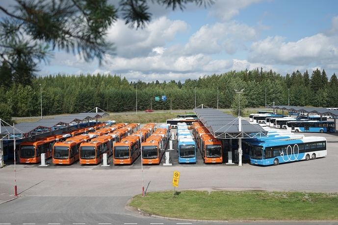 Los primeros eBuses de BYD llegan a la capital finlandesa