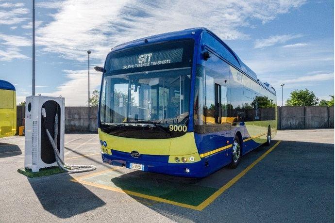 BYD recibe uno de los pedidos de autobuses eléctricos más grandes de Italia