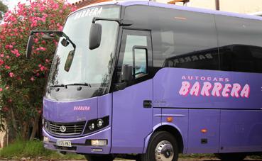 Autocars Barrera refuerza la seguridad del transporte escolar