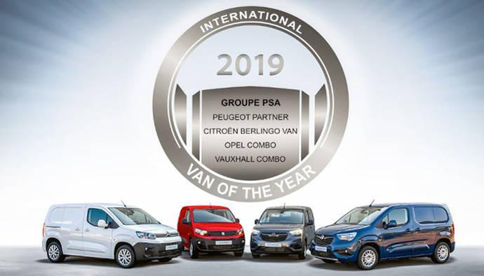 Las furgonetas de PSA se llevaron el 'Van of the Year 2019'.