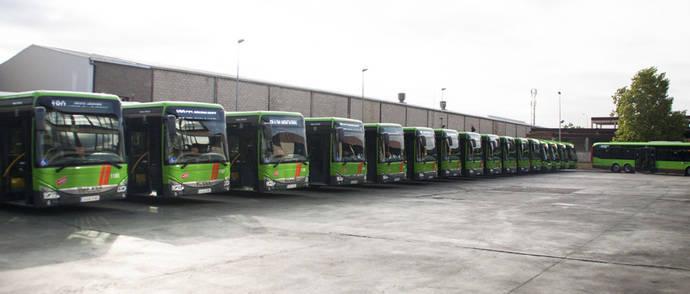 Empresa Martin presenta 18 nuevos autobuses para la Comunidad de Madrid