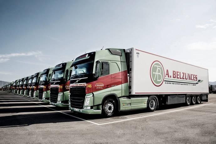 Transportes Belzunces compra a Volvo Trucks 45 unidades FH 500