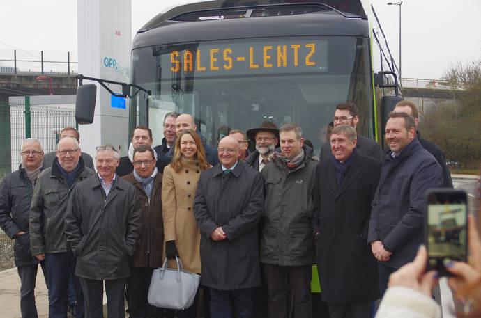 Sistema de autobuses eléctricos OppCharge en Luxemburgo