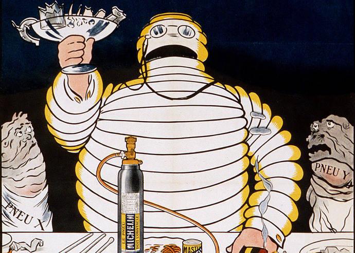 Bibendum, el famoso muñeco de Michelin, cumple 120 años