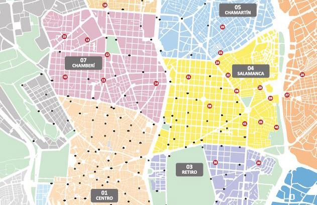 BiciMAD instala 42 nuevas estaciones en ocho distritos
